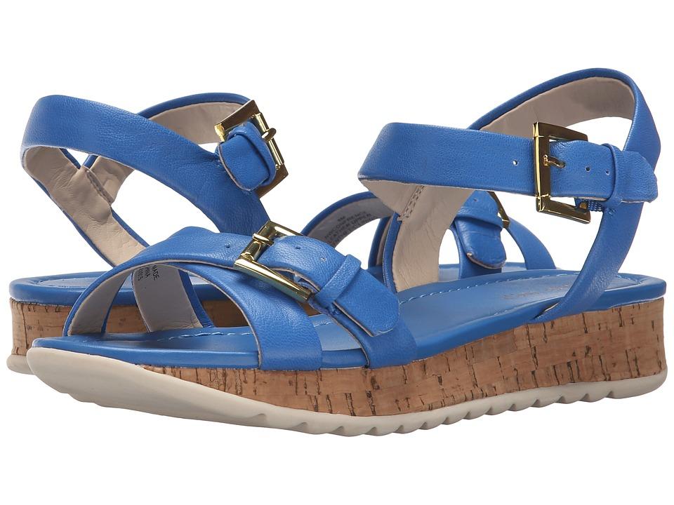 Nine West - Confrence (Blue Leather) Women's Shoes