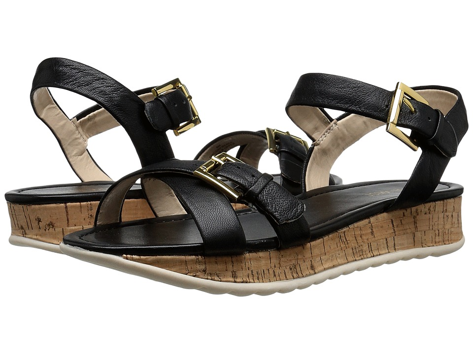 Nine West - Confrence (Black Leather) Women's Shoes