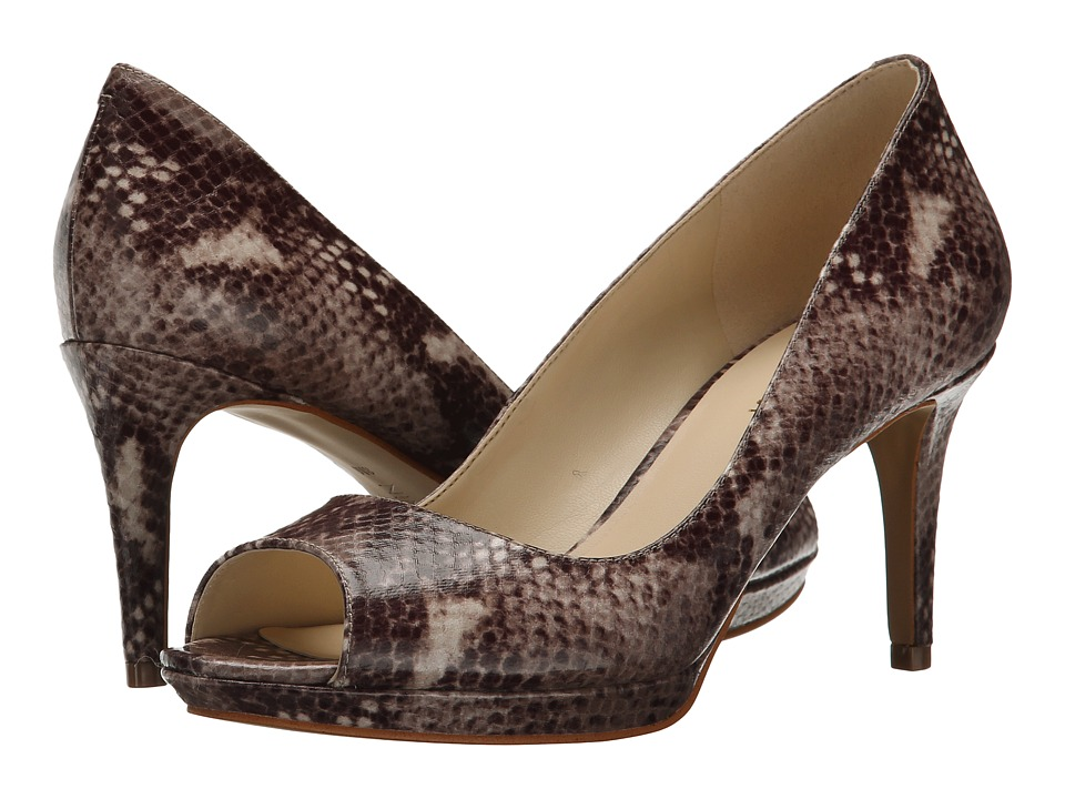 Nine West - Gelabelle (Dark Natural Multi Synthetic) Women's Shoes
