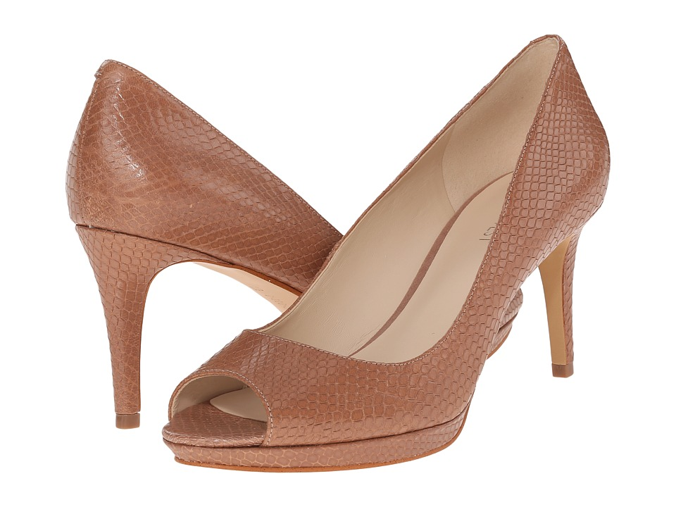 Nine West - Gelabelle (Natural Leather) Women's Shoes