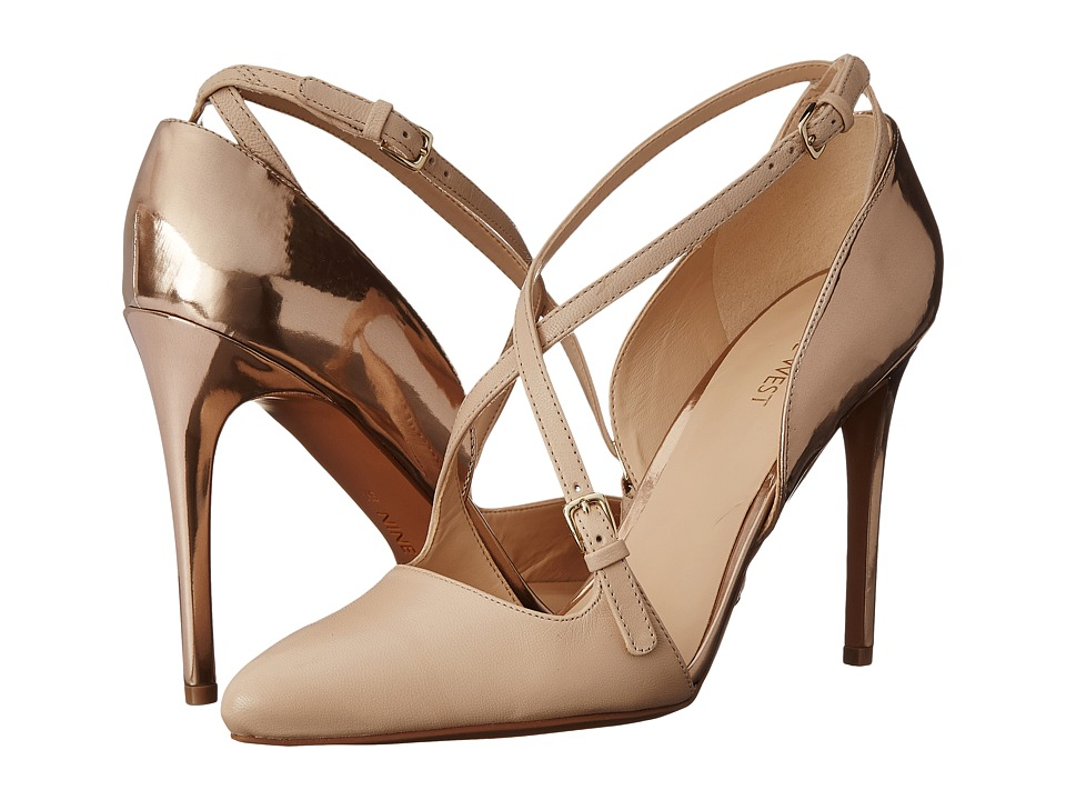 Nine West - Earnest (Light Natural/Light Natural Leather) High Heels