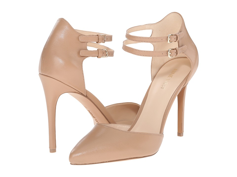 Nine West - Eastlyn (Taupe Leather) High Heels