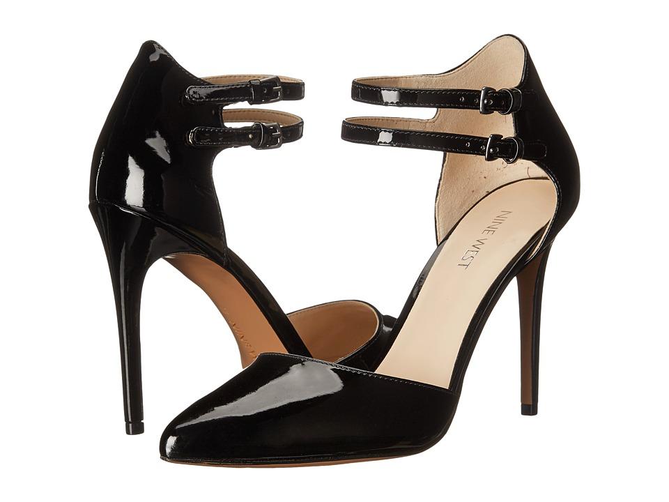 Nine West - Eastlyn (Black Synthetic) High Heels