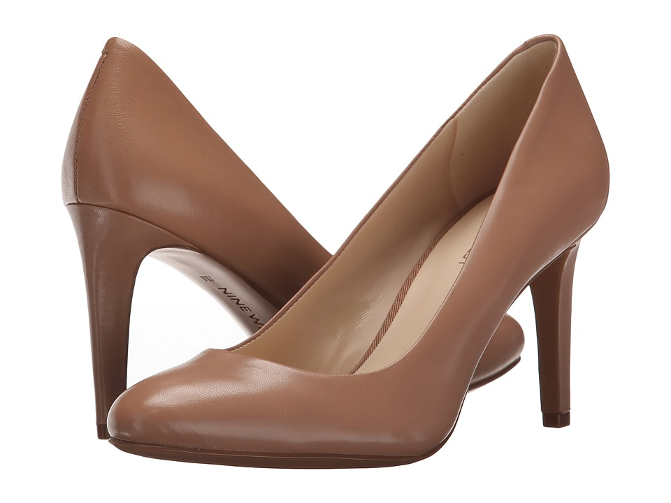 Nine West - Handjive (Taupe Leather) High Heels