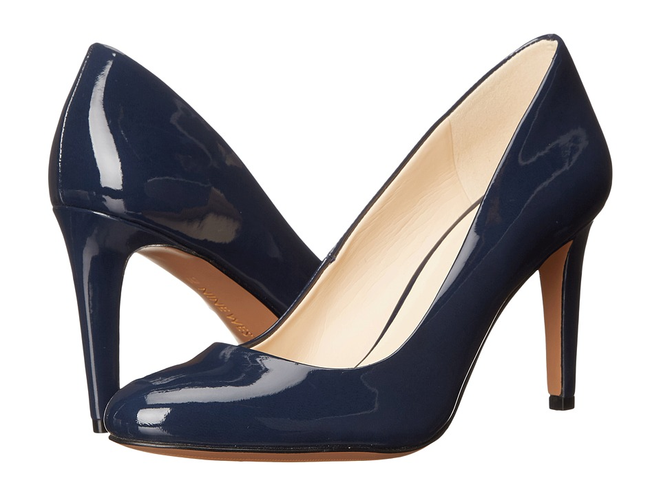 Nine West - Handjive (Navy Synthetic) High Heels