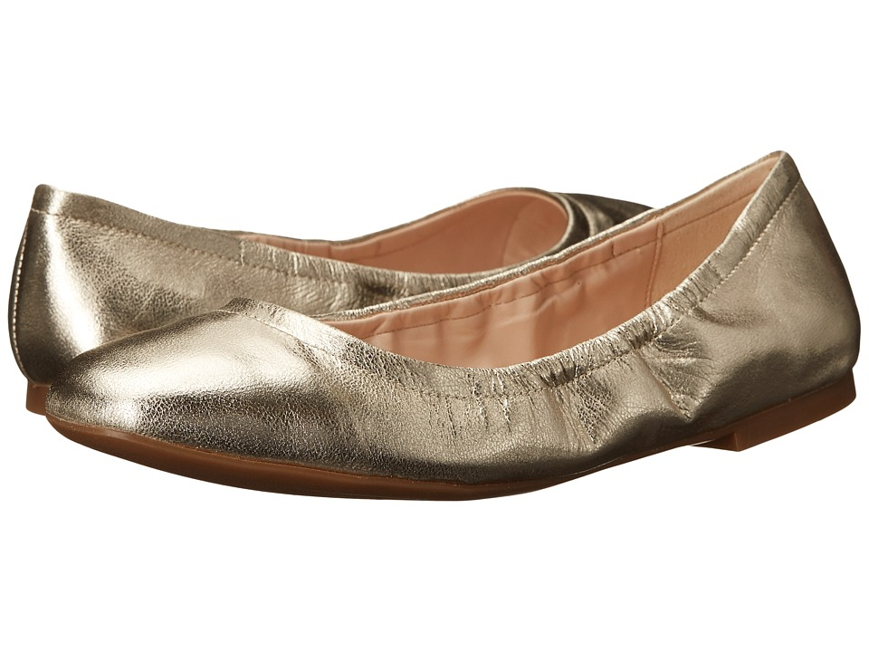 Nine West - Girlsnite (Light Gold Metallic) Women's Flat Shoes