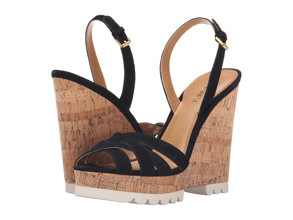 Nine West - Kindeyes (Black Suede) Women's Shoes