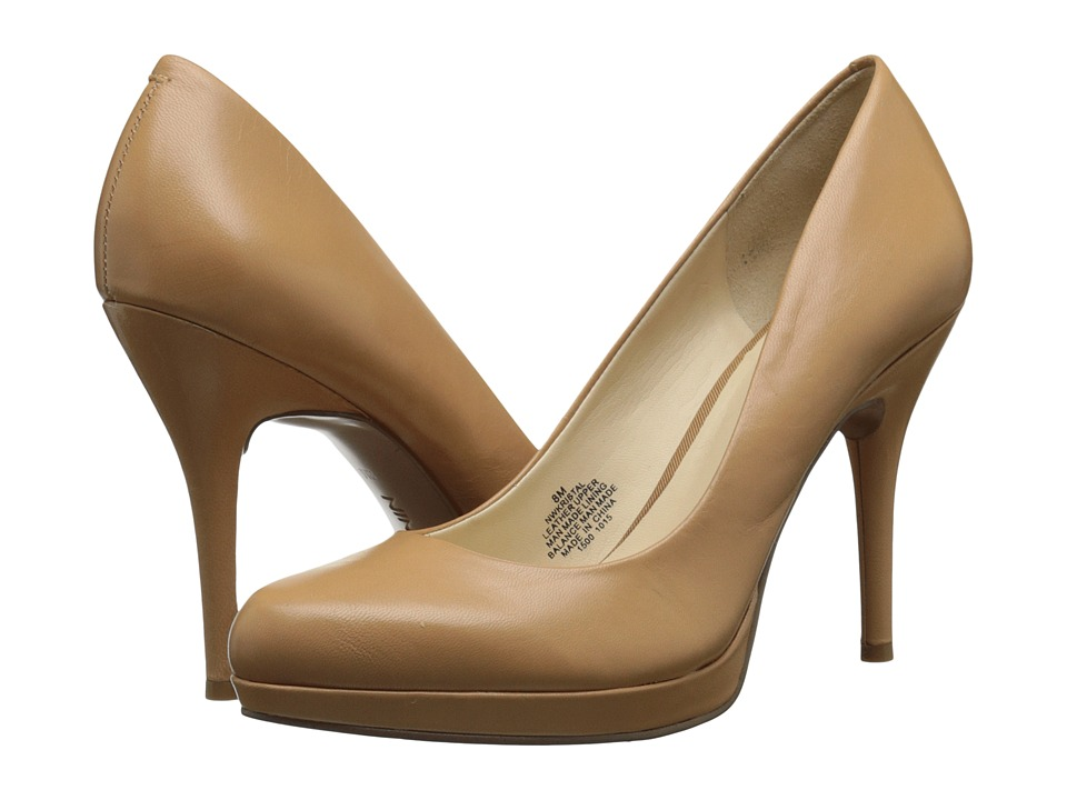 Nine West - Kristal (Light Natural Leather) Women's Shoes