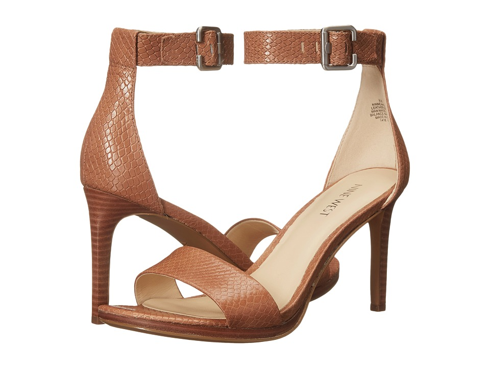 Nine West - Meantobe (Natural Leather) Women's 1-2 inch heel Shoes