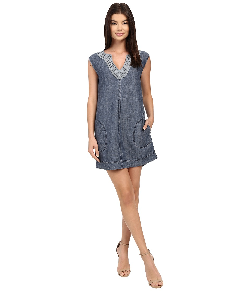 Trina Turk - Shelby Dress (Indigo) Women's Dress