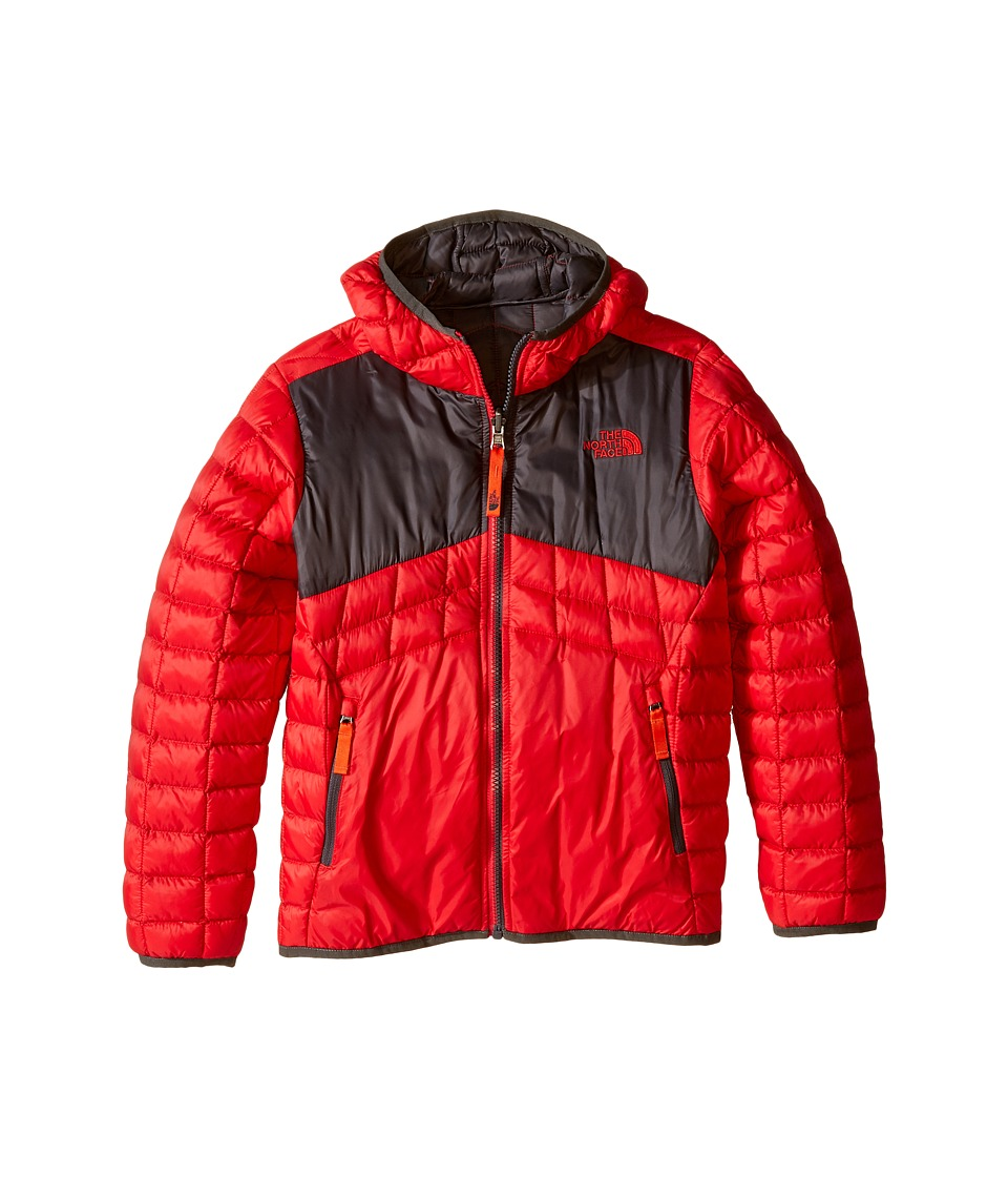 The North Face Kids - Reversible Thermoball Hoodie (Little Kids/Big Kids) (TNF Red) Boy's Sweatshirt
