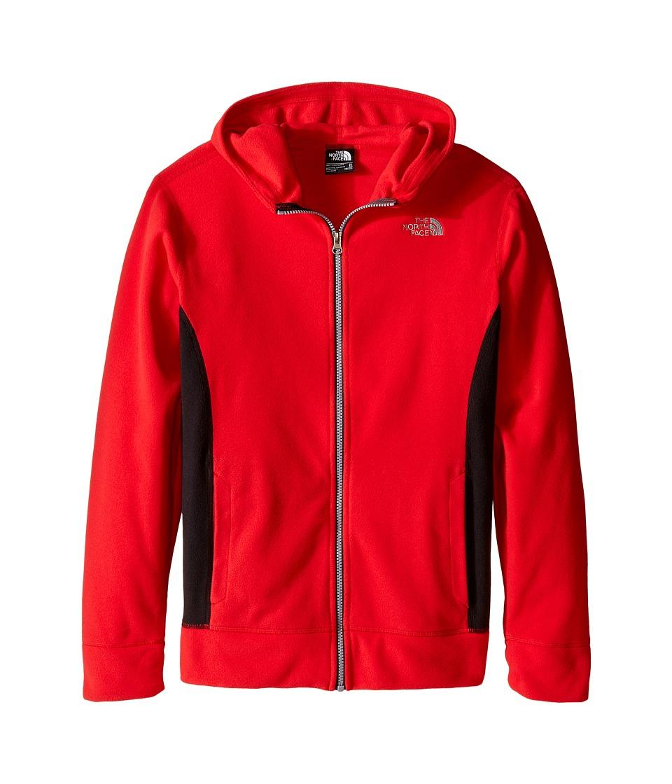 The North Face Kids - Glacier Full Zip Hoodie (Little Kids/Big Kids) (TNF Red) Boy's Sweatshirt