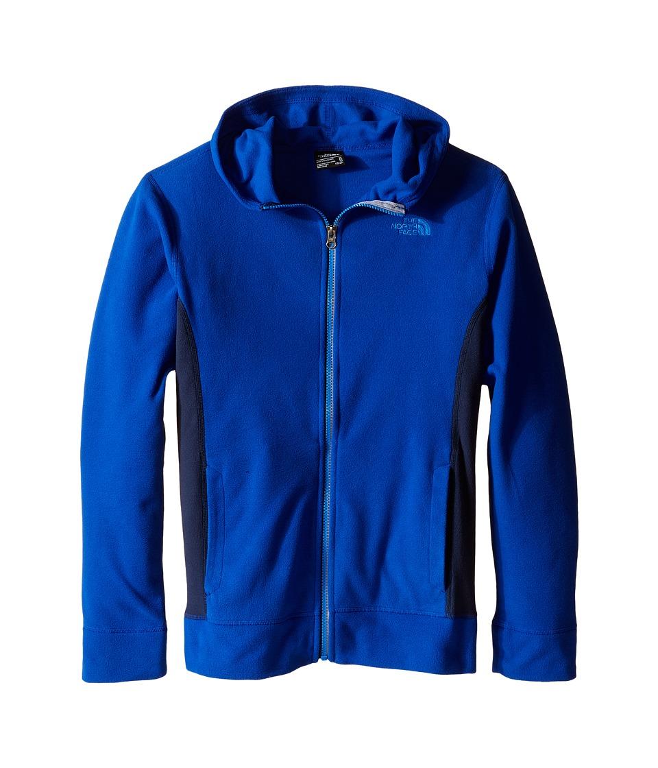 The North Face Kids - Glacier Full Zip Hoodie (Little Kids/Big Kids) (Honor Blue) Boy's Sweatshirt