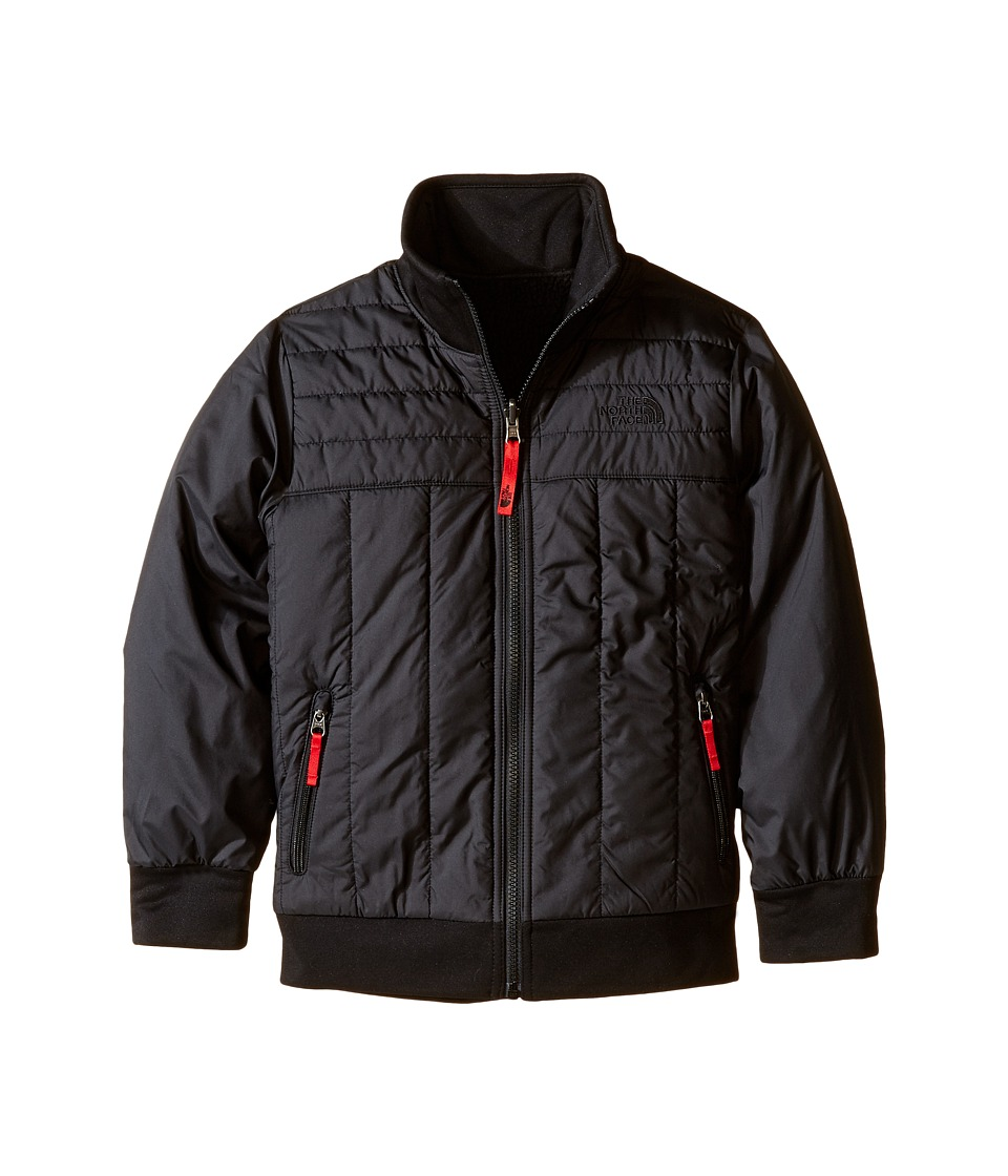 The North Face Kids - Reversible Yukon Jacket (Little Kids/Big Kids) (TNF Black) Boy's Coat