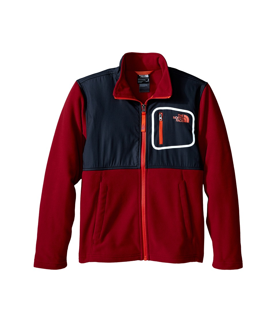 The North Face Kids - Peril Glacier Track Jacket (Little Kids/Big Kids) (Biking Red) Boy's Coat