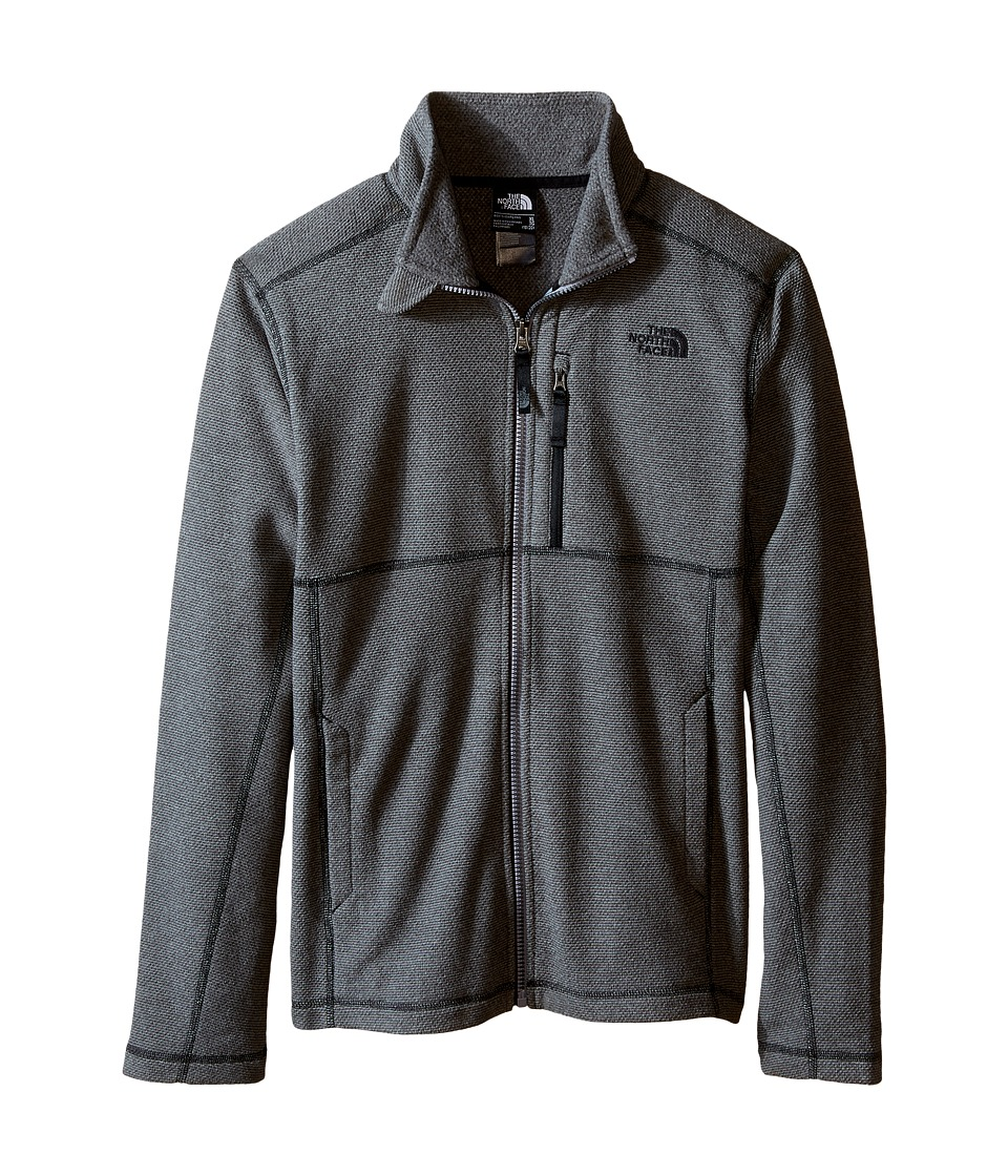 The North Face Kids - Cap Rock Full Zip (Little Kids/Big Kids) (Graphite Grey Heather) Boy's Sweatshirt