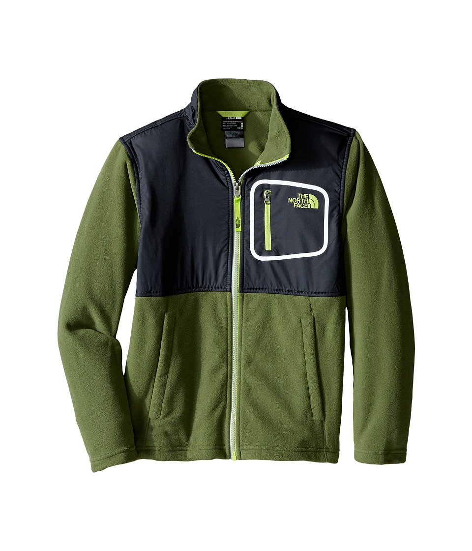 The North Face Kids - Peril Glacier Track Jacket (Little Kids/Big Kids) (Terrarium Green) Boy's Coat