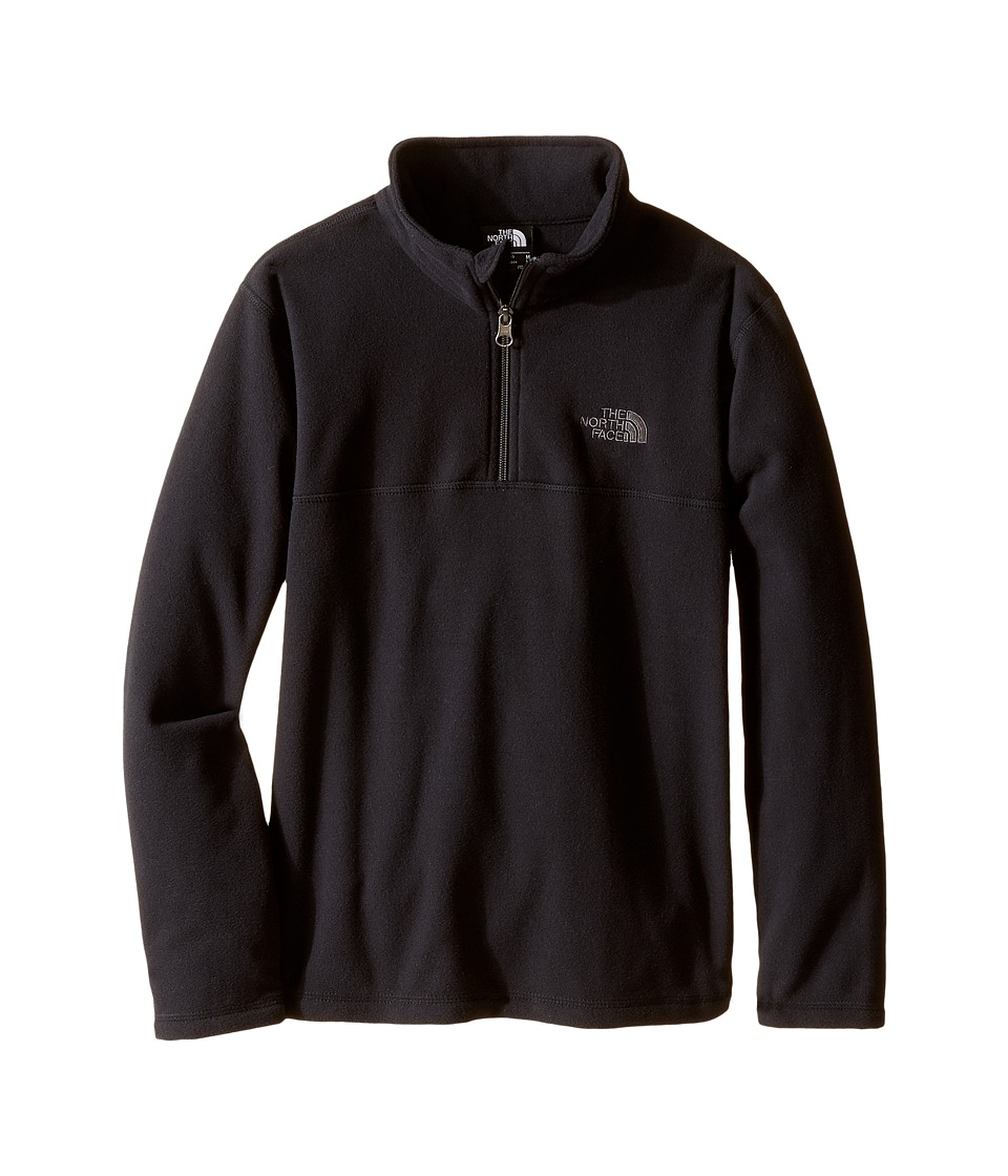 The North Face Kids - Glacier 1/4 Zip (Little Kids/Big Kids) (TNF Black) Boy's Sweatshirt