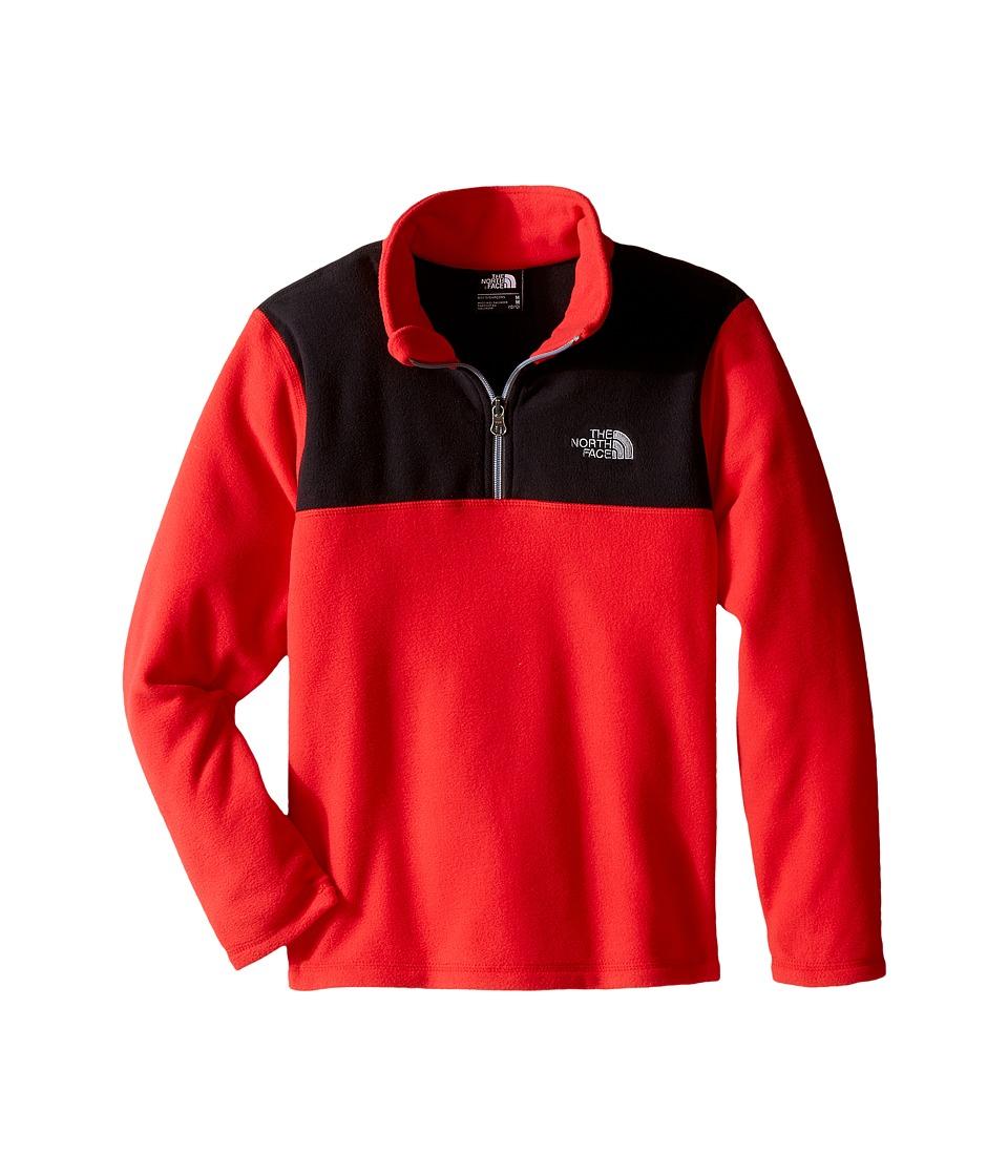 The North Face Kids - Glacier 1/4 Zip (Little Kids/Big Kids) (TNF Red) Boy's Sweatshirt