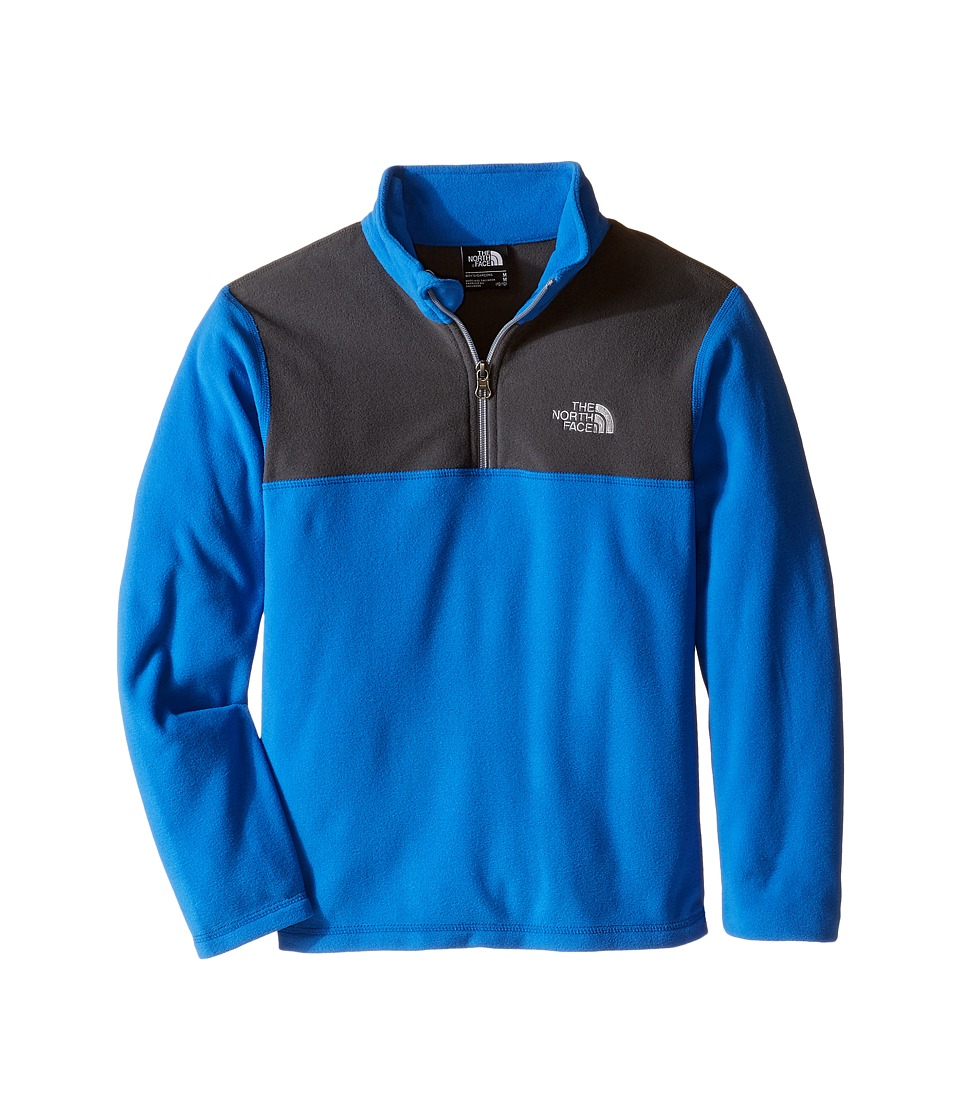 The North Face Kids - Glacier 1/4 Zip (Little Kids/Big Kids) (Jake Blue) Boy's Sweatshirt