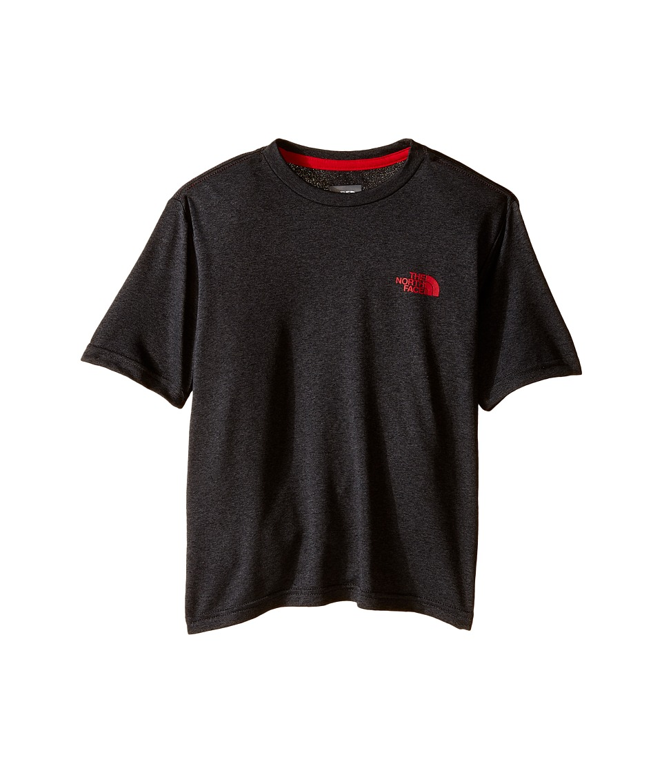 The North Face Kids - Short Sleeve Reaxion Tee (Little Kids/Big Kids) (TNF Dark Grey Heather) Boy's T Shirt