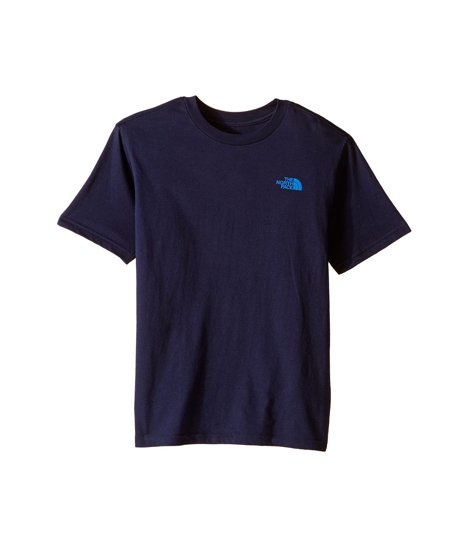The North Face Kids - Short Sleeve Graphic Tee (Little Kids/Big Kids) (Cosmic Blue) Boy's Clothing