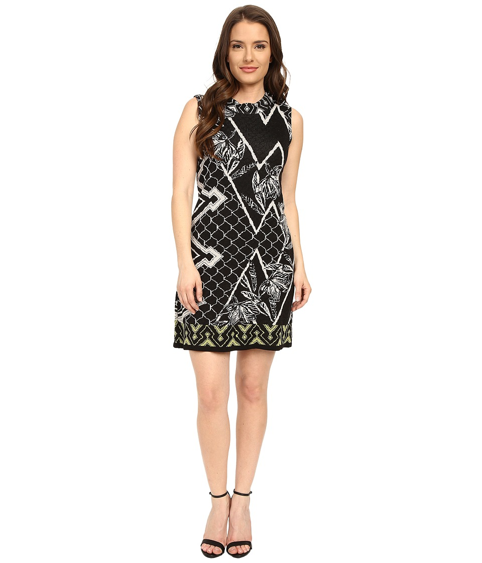 NIC+ZOE - Petite Shattered Shift Dress (Multi) Women's Dress