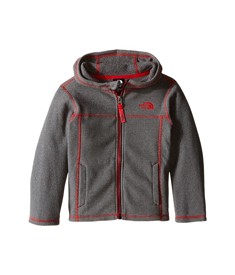 The North Face Kids - Cap Rock Hoodie (Toddler) (Graphite Grey Heather (Prior Season)) Boy's Sweatshirt