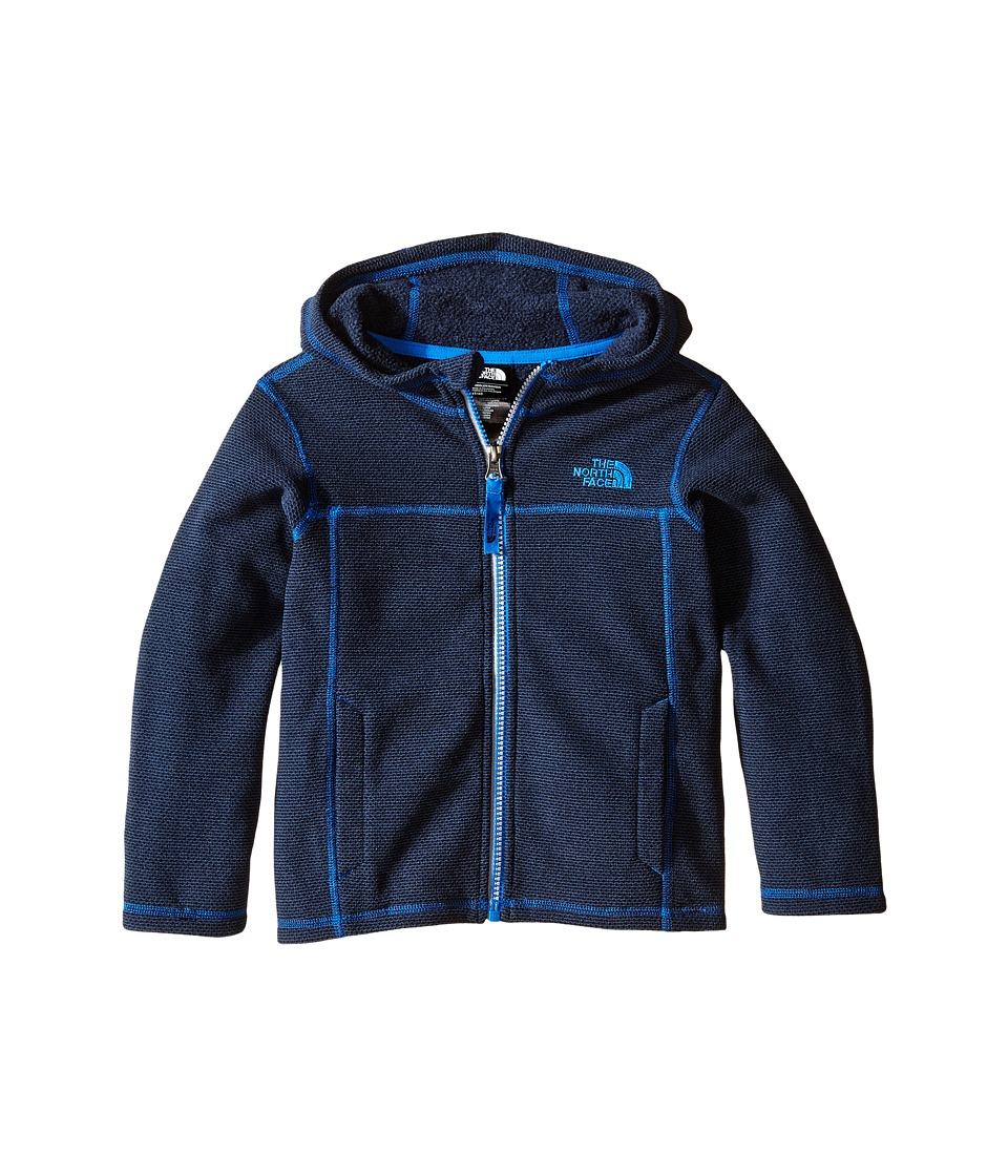 The North Face Kids - Cap Rock Hoodie (Toddler) (Cosmic Blue Heather) Boy's Sweatshirt