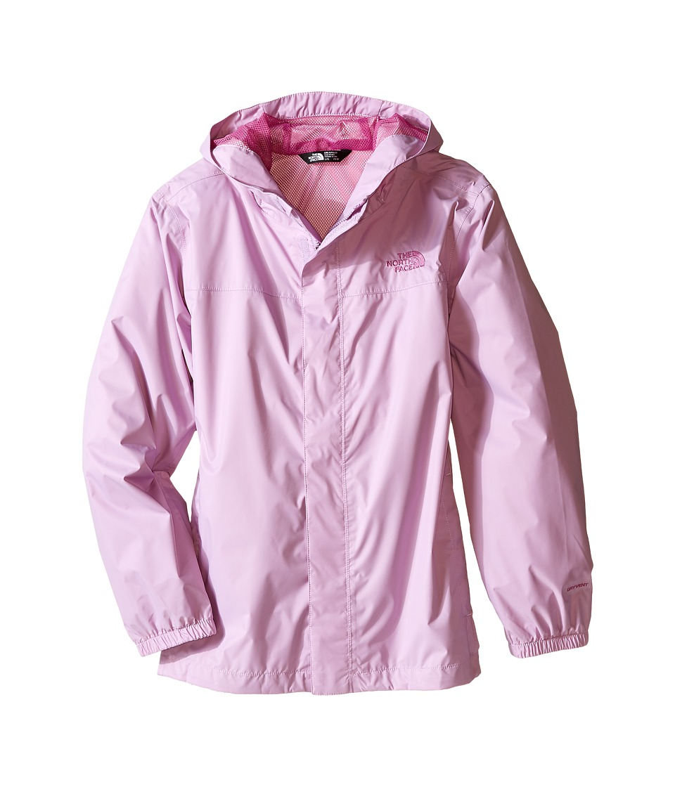 The North Face Kids - Girls' Zipline Rain Jacket (Little Kids/Big Kids) (Lupine) Girl's Coat