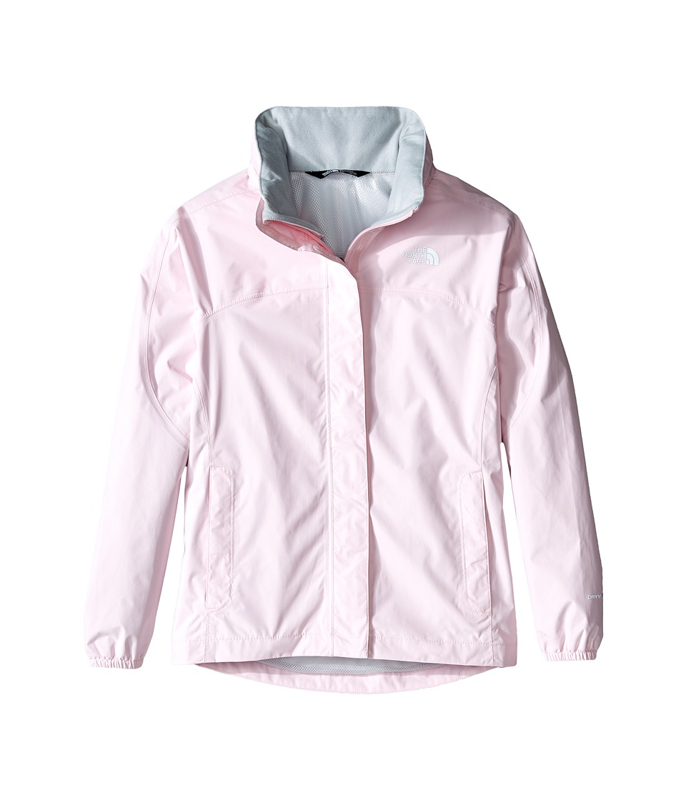 The North Face Kids Resolve Reflective Jacket (Little Kids/Big Kids) (Coy Pink) Girl