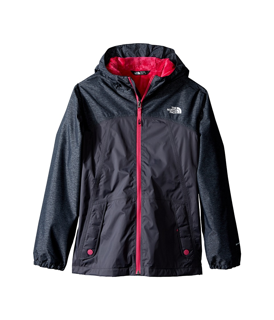 The North Face Kids - Warm Storm Jacket (Little Kids/Big Kids) (Graphite Grey) Girl's Coat