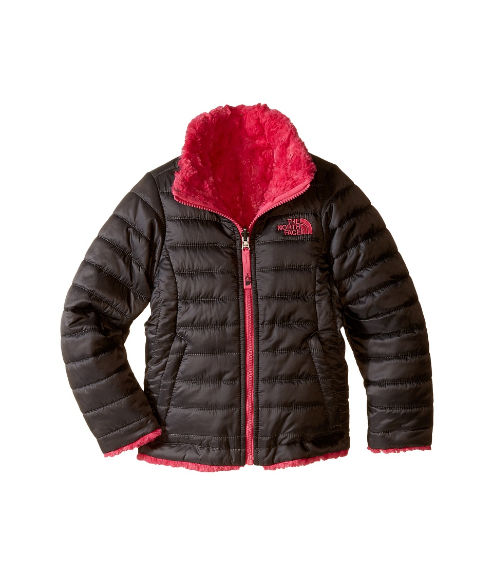 The North Face Kids - Reversible Mossbud Swirl Jacket (Little Kids/Big Kids) (Graphite Grey/Cabaret Pink) Girl's Coat