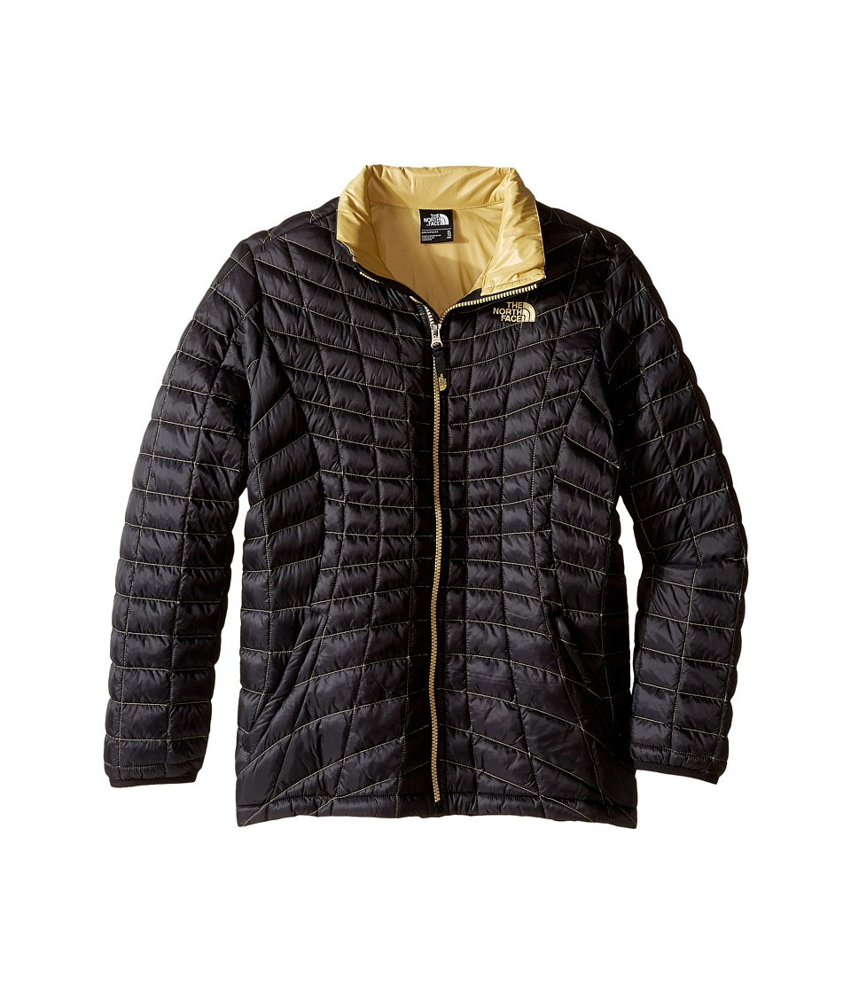 The North Face Kids - Thermoball Full Zip Jacket (Little Kids/Big Kids) (TNF Black) Girl's Coat