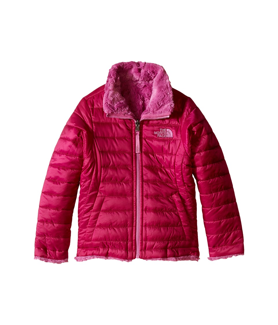 The North Face Kids - Reversible Mossbud Swirl Jacket (Little Kids/Big Kids) (Roxbury Pink) Girl's Coat