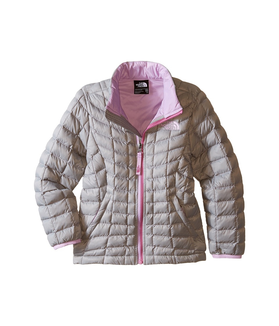 The North Face Kids - Thermoball Full Zip Jacket (Little Kids/Big Kids) (Metallic Silver) Girl's Coat