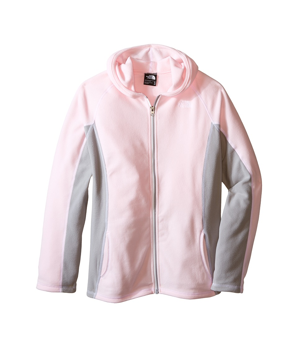 The North Face Kids - Glacier Full Zip Hoodie (Little Kids/Big Kids) (Coy Pink) Girl's Sweatshirt