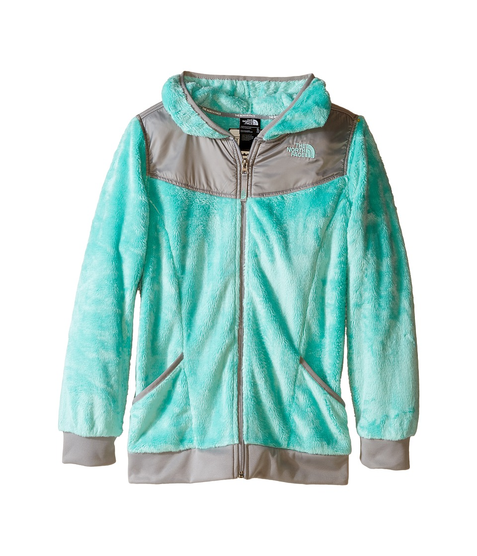 The North Face Kids - Oso Hoodie (Little Kids/Big Kids) (Ice Green) Girl's Sweatshirt