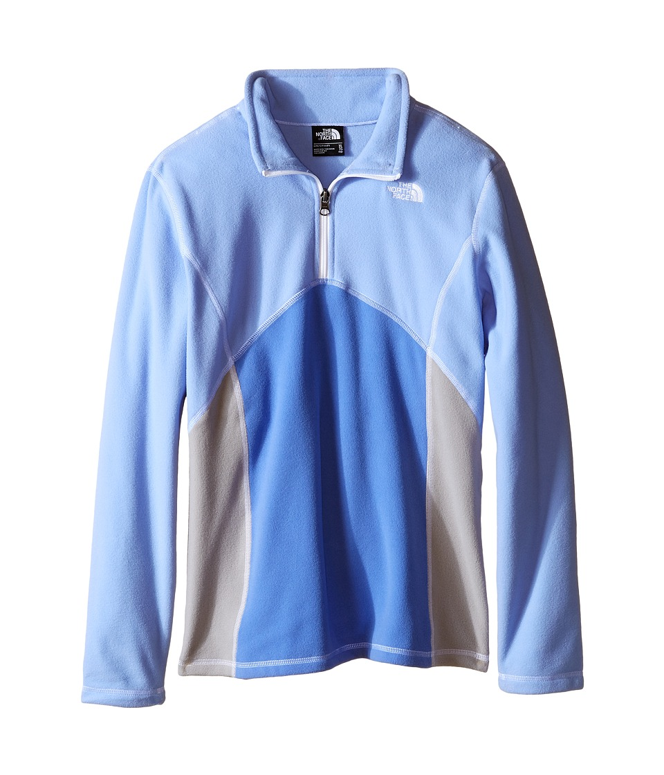 The North Face Kids - Glacier 1/4 Zip (Little Kids/Big Kids) (Grapemist Blue) Girl's Long Sleeve Pullover