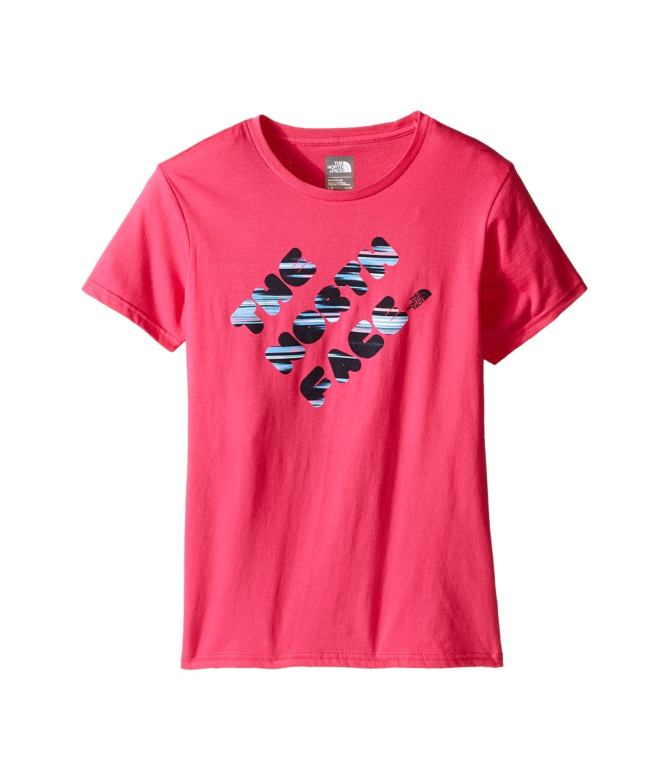 The North Face Kids - Short Sleeve Graphic Tee (Little Kids/Big Kids) (Cabaret Pink) Girl's Short Sleeve Pullover