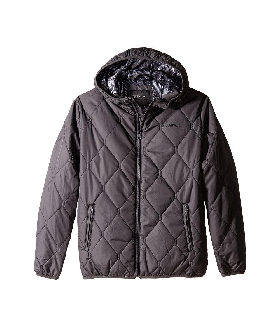 O'Neill Kids - North Jacket (Big Kids) (Asphalt) Boy's Coat