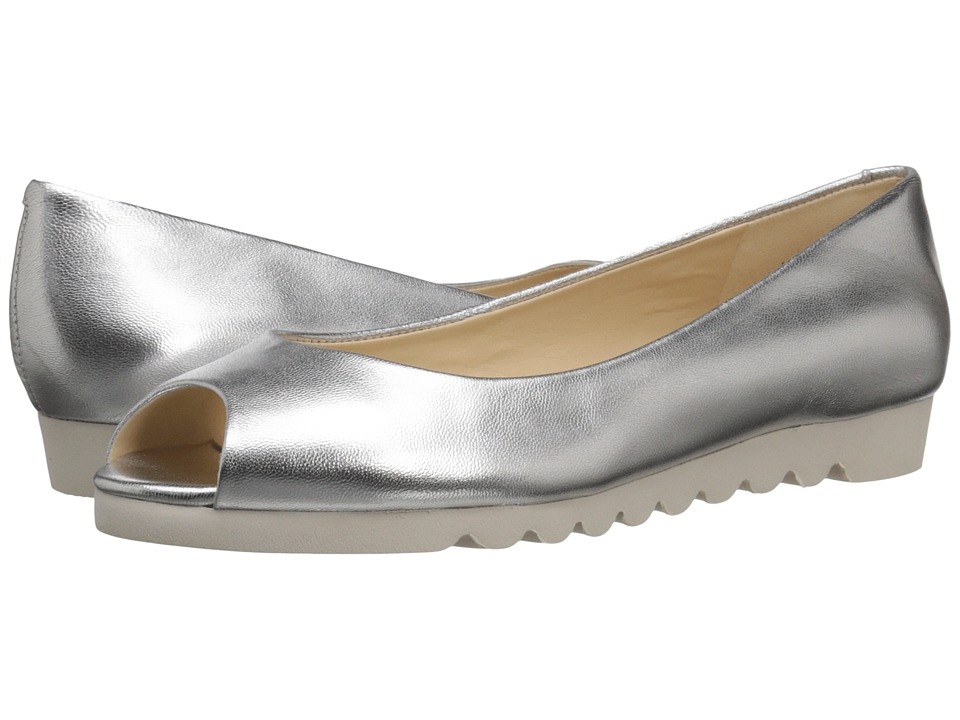 Nine West - Ivette (Silver Metallic) Women's Shoes