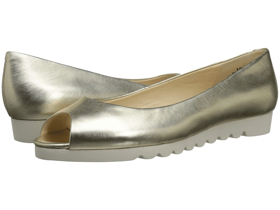 Nine West - Ivette (Light Gold Metallic) Women's Shoes