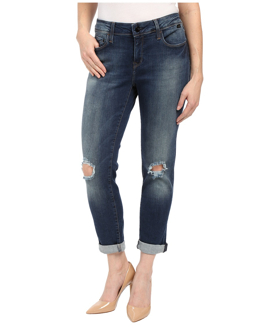 Mavi Jeans - Petite Ada in Medium Blue (Medium Blue) Women's Jeans