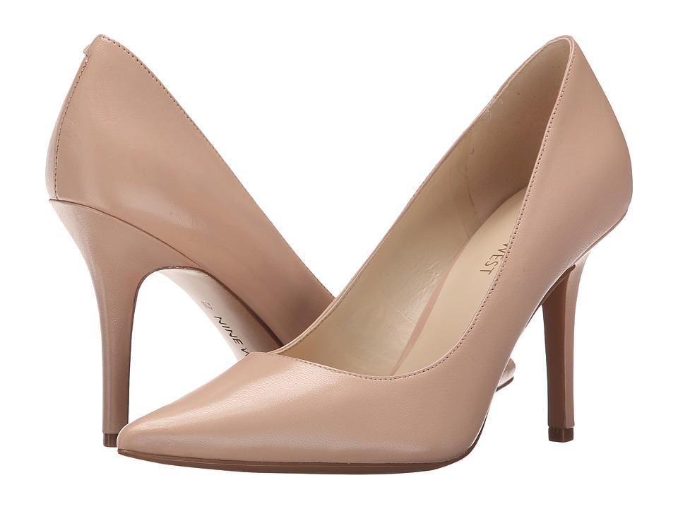 Nine West - Jackpot (Light Pink Leather) High Heels
