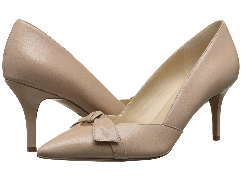 Nine West - Kelda (Light Pink Leather) Women's Slip on Shoes
