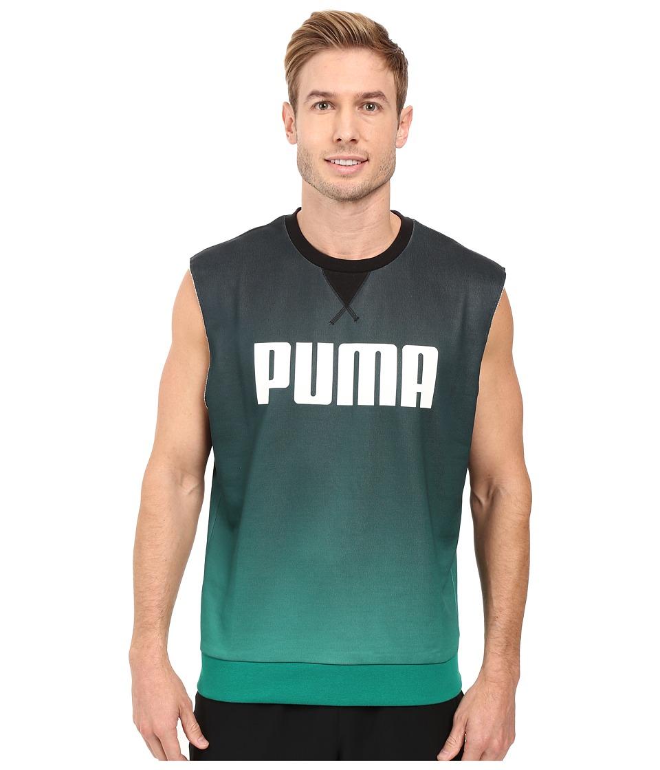 PUMA - Running Top (Black) Men's Sleeveless