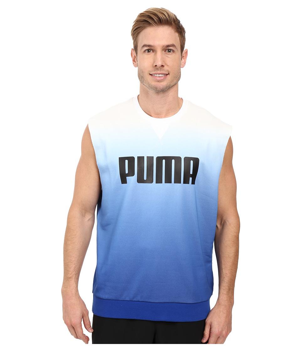 PUMA - Running Top (White) Men's Sleeveless