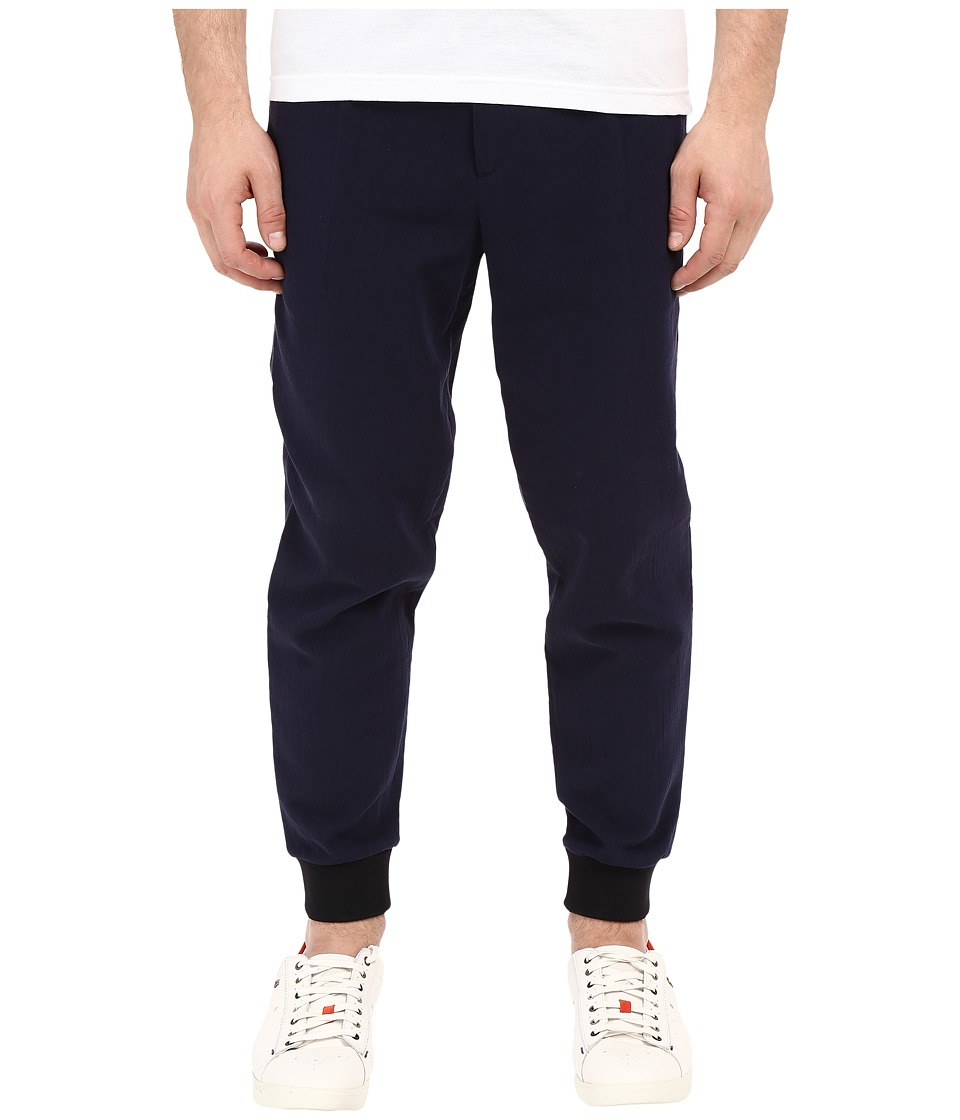 McQ - Tailored Trackpants (Midnight Navy) Men's Casual Pants