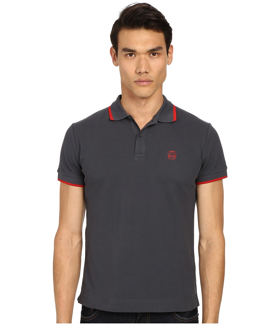 McQ - Coverlock Polo (Rock) Men's Short Sleeve Knit